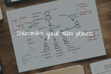 Streamline the sales process