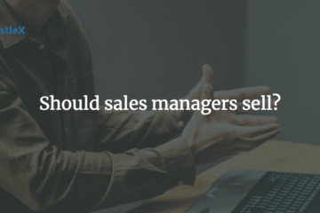 sales managers sell?